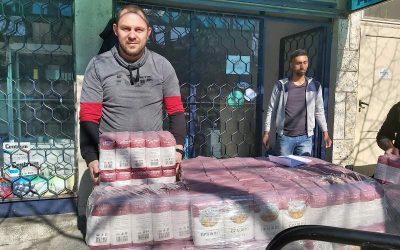 """Кампания """"Повече бъдеще"""" на хранителна банка """"Верният настойник"""" раздаде хранителни пакети"""