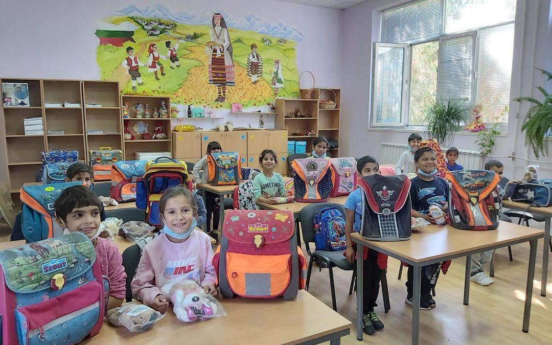 Дарение за децата от село Загорци