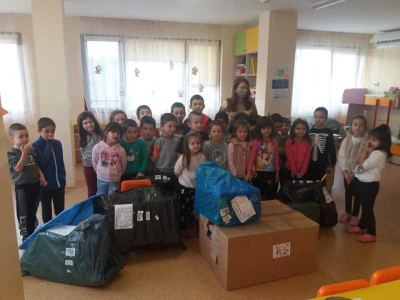 Играчки за детската градина село Маринка