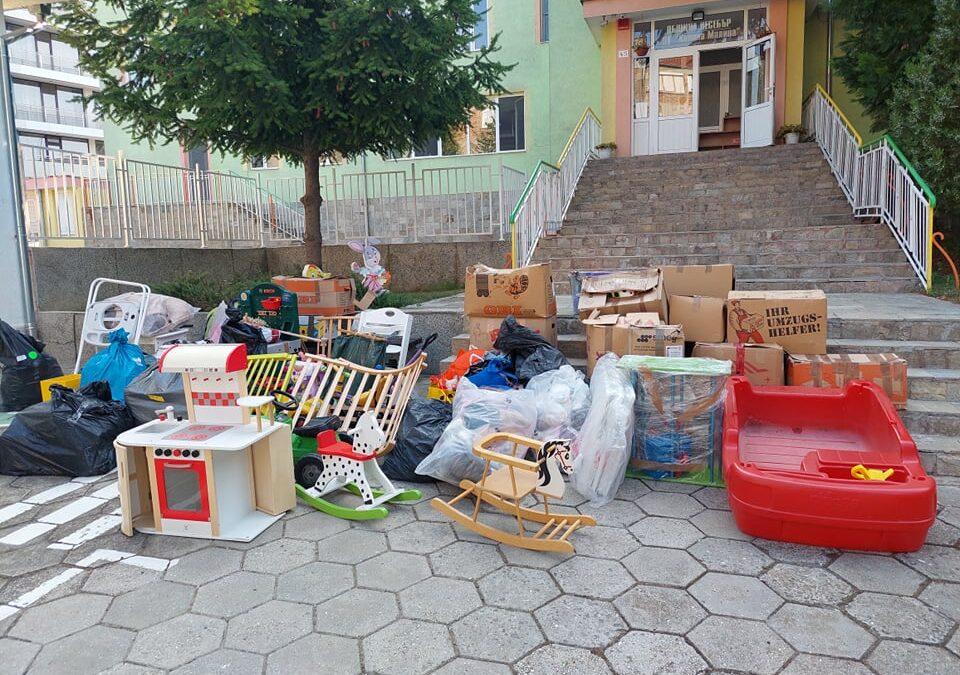 Голямо дарение за детската градина в гр. Несебър